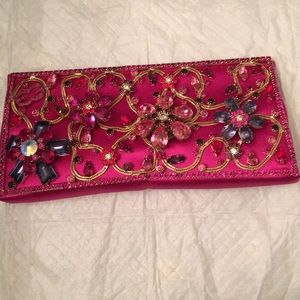 Escada jeweled clutch